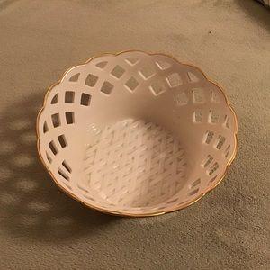 Lenox Basketweave Bowl